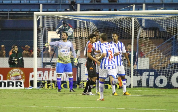 Diego, goleiro, avaí, joinville, jec, leão, série b, ressacada (Foto: Jamira Furlani / Avaí FC)