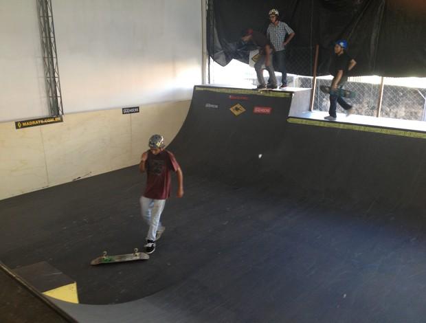 Pista de skate inaugurada em Patos de Minas - Ricardo Porva (Foto: Gullit Pacielle)