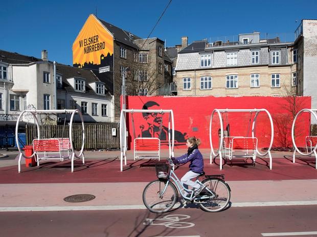 Copenhague inteira é navegável por bicicletas e 96% da população mora a 15 minutos a pé de uma área verde de qualidade. (Foto:  Aga Khan Award for Architecture/Handout via REUTERS)