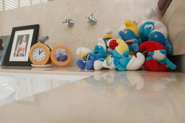 Franciely Freduzeski abre sua casa triplex de 400 m² na Barra da Tijuca, na zona oeste do Rio, e mostra decoração moderna e divertida (Foto: Anderson Barros / EGO)