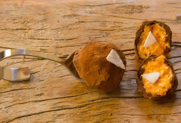 Trufa de Abóbora com Coco (Foto: Divulgação)