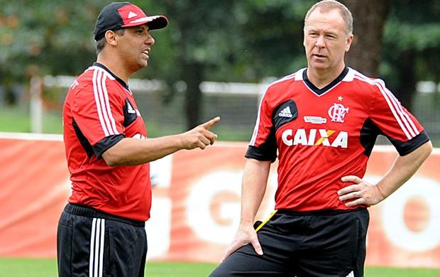 Mano Menezes flamengo treino (Foto: Alexandre Vidal / FlaImagem)