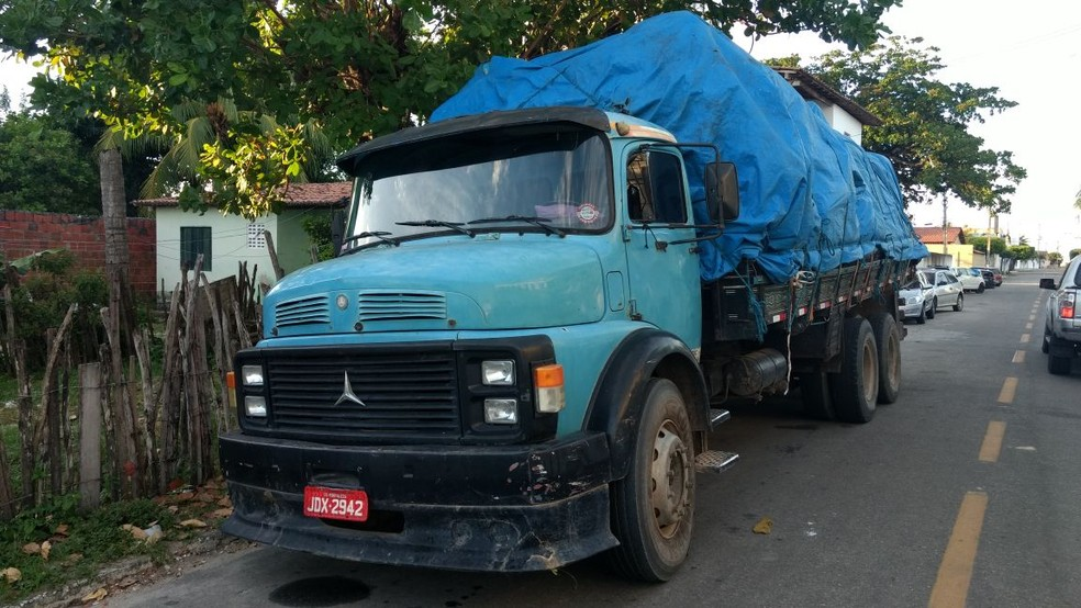 Carga avaliada em R$ 140 mil é recuperada pela Polícia Militar (Foto: Polícia Civil/ Reprodução)