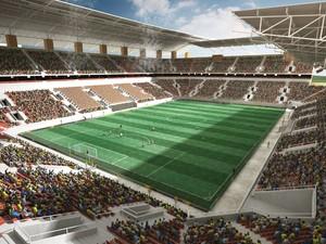 Projeto Arena da Floresta Copa 2014 (Foto: Divulgação/SEE)