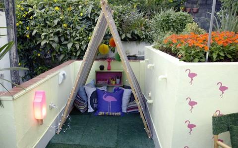 Barraca infantil: veja o passo a passo para criar uma tenda de tecido para a criançada brincar