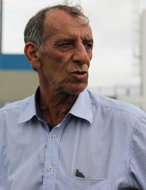 Aderbal Lana técnico do Nacional-AM (Foto: Isabella Pina)