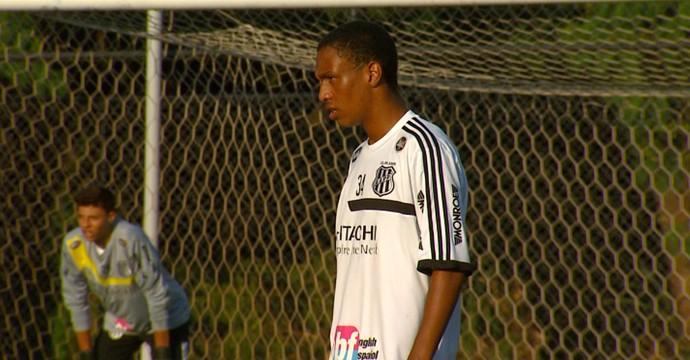 Leandrinho, atacante Ponte Preta (Foto: Reprodução EPTV)