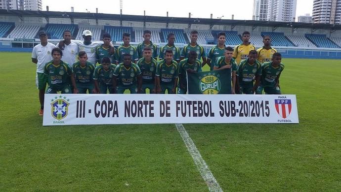 Gurupi estreia com vitória na Copa Norte Sub-20 (Foto: FPF/Divulgação)