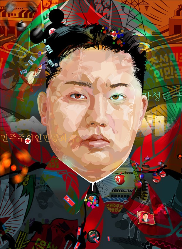 King Jong-Un, o excêntrico ditador da Coreia do Norte (Foto: Túlio Fagim)