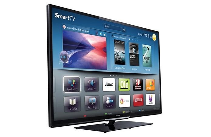 Smart TV Philips tem bom custo-benefício para o grande público (Foto: Divulgação)