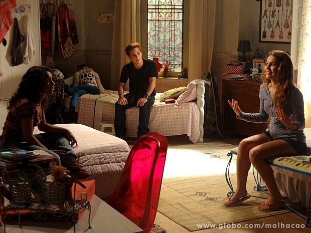 Anita decide parar de se lamentar e retomar a própria vida (Foto: Malhação / TV Globo)