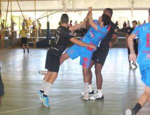 Upaon-Açu x RRHF - Copa Nordeste de Handebol (Foto: Emanuele Madeira/GLOBOESPORTE.COM)