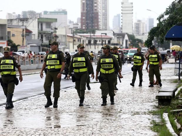 De acordo com a Segup, sete mil agentes de segurança deverão atuar em Belém e outros 142 municípios do interior durante a Operação Carnaval 2017. (Foto: Sidney Oliveira/Agência Pará)