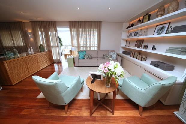 Atmosfera rústica e elegante no apartamento em sp casa vogue