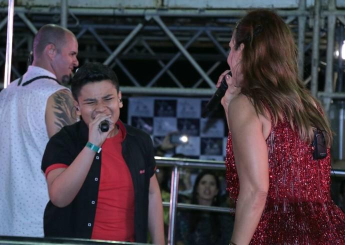 """Roberto Matheus e Ivete Sangalo cantam """"Parece Que o Vento"""" (Foto: Fred Pontes / Divulgação)"""