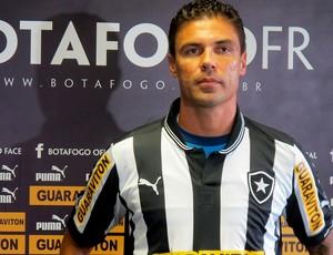 bolivar botafogo apresentação (Foto: Thales Soares / Globoesporte.com)
