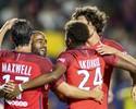 Lucas marca na goleada do PSG sobre o Leicester, Liverpool bate Milan