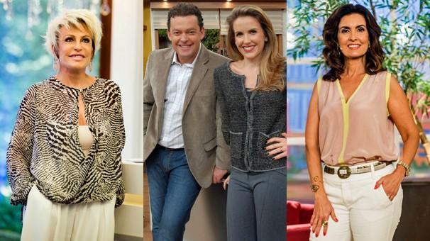 COm a estreia do Hora Um, Mais Você, Bem Estar e Encontro com Fátima Bernardes começam um pouco mais tarde (Foto: Globo)