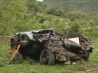 Enterrada menina que morreu após árvore atingir carro em Tubarão, SC