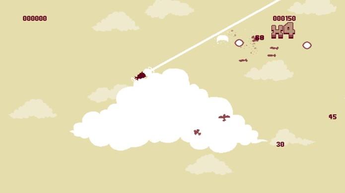 Aprenda como jogar Luftrausers e personalizar seu avião (Foto: Reprodução)