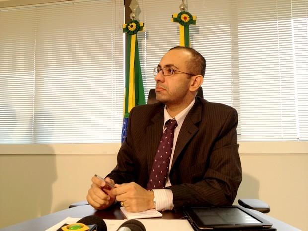 Roberto Barros (Foto: Rayssa Natani / G1)