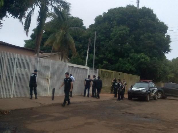 Operação do MP prende prefeito, irmão e primeira-dama em Aporé, Goiás (Foto: Divulgação/Promotoria de Itajá)