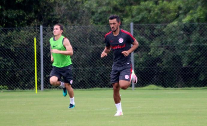 Undel treino do Inter (Foto: Tomás Hammes/GloboEsporte.com)