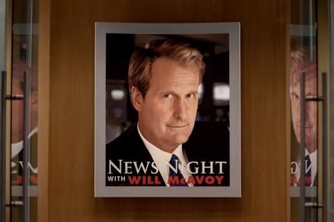 Trecho de trailer da segunda temporada de 'The newsroom' (Foto: Reprodução da internet)