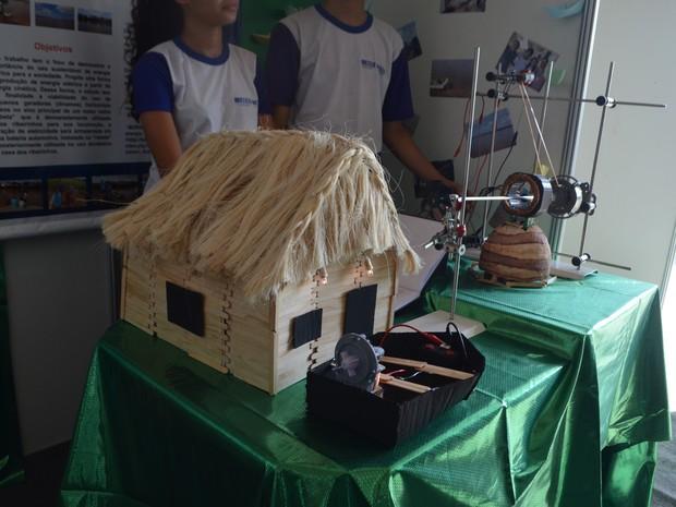 Estudantes, feira de ciência, Amapá, Macapá (Foto: Jorge Abreu/G1)