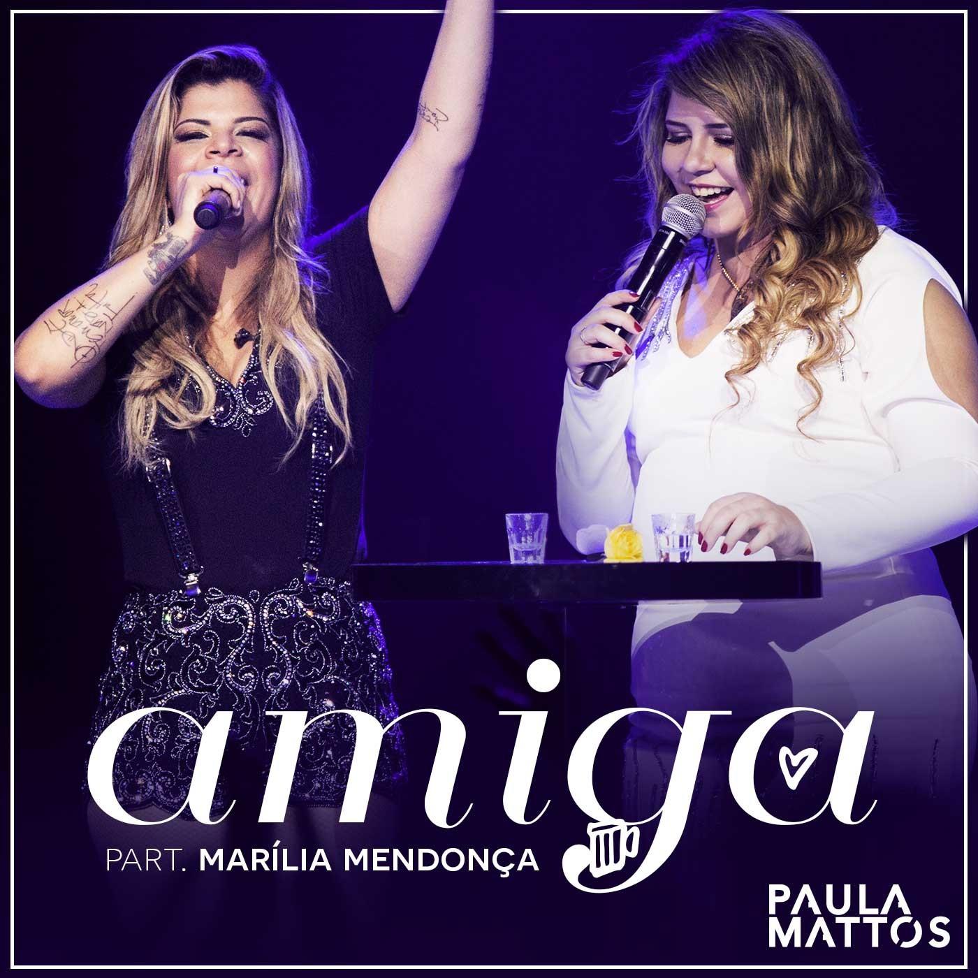Paula Mattos e Marilia (Foto: divulgao)