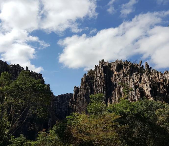 As belezas da região de Diamantina, em Minas, serviram de inspiração para a novela (Foto: Raul Gama/Arquivo Pessoal)