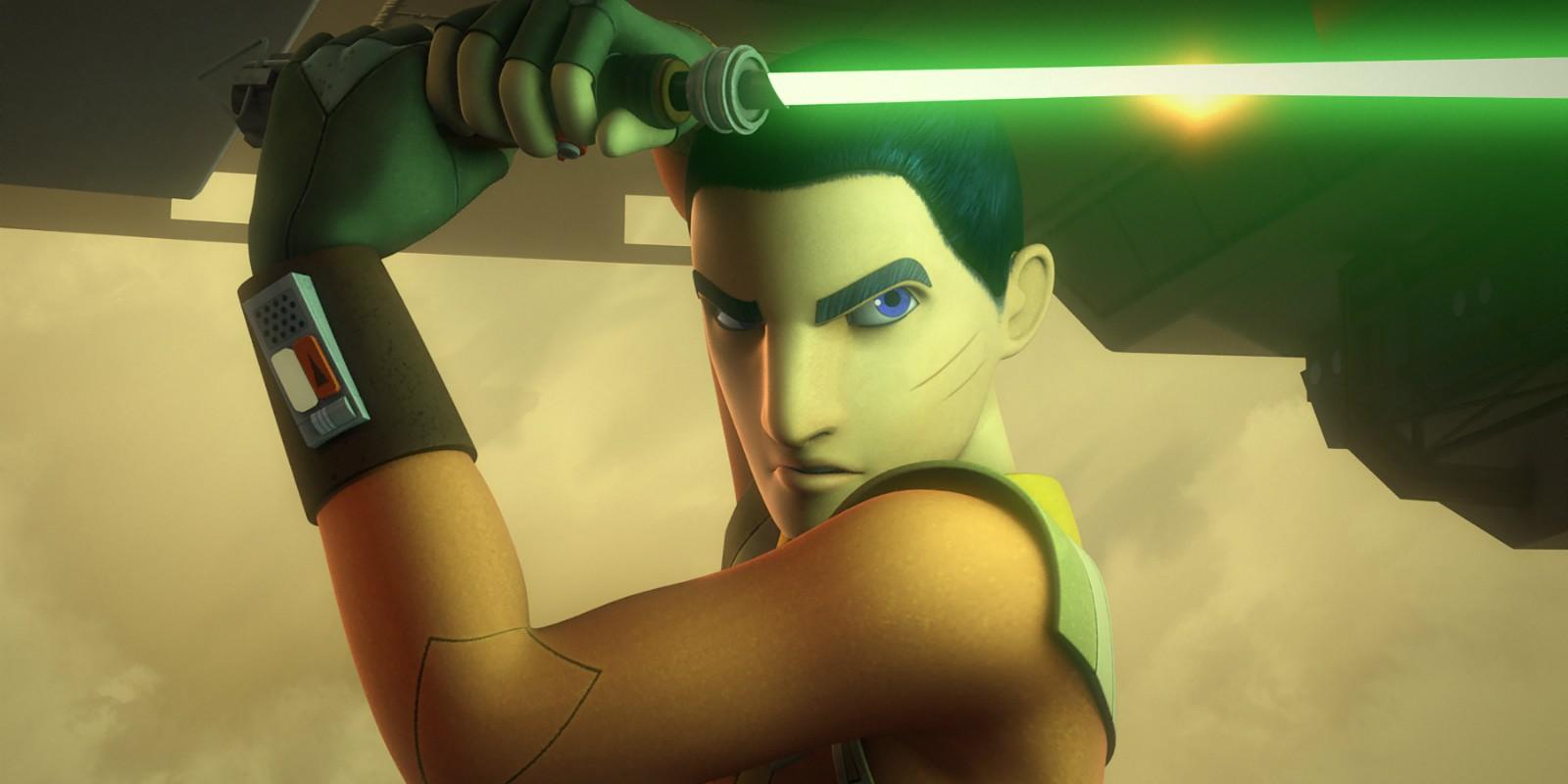 Ezra em 'Star Wars Rebels' (Foto: Divulgação)
