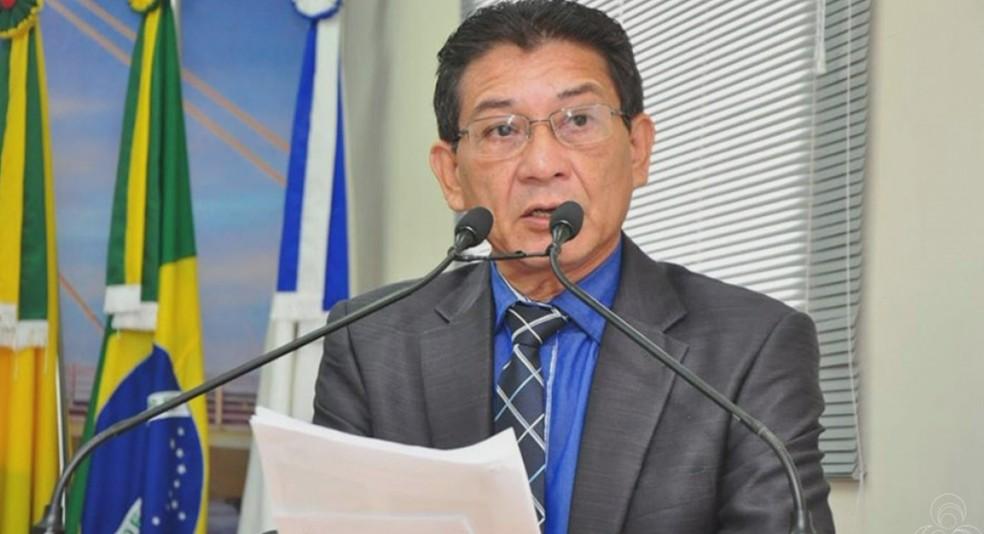Câmara Criminal do TJ-AC detremina a prisão do vereador José Carlos Lima, o Juruna (Foto: Reprodução/Rede Amazônica Acre)