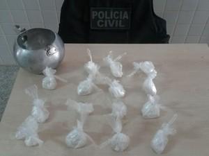 No PA, casal é preso com pasta de cocaína escondida no quintal