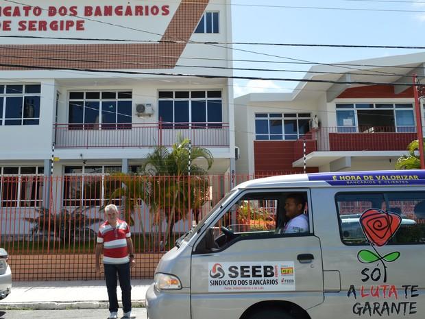 Sindicato dos Bancários de Sergipe (Seeb) (Foto: Seeb/Divulgação)