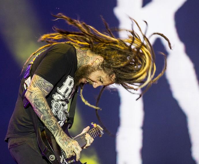 Korn completa 20 anos de carreira  (Foto: Felipe Monteiro/Gshow)
