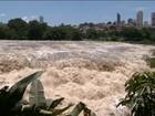 Nível do Rio Piracicaba sobe e encanta moradores e turistas