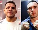UFC planeja cinturão interino entre Rafael dos Anjos e Colby Covington no UFC Rio 9