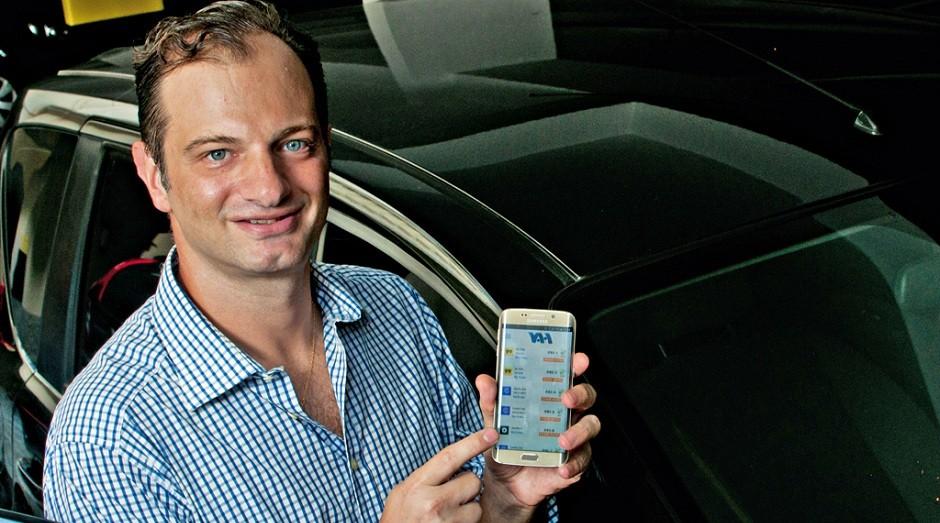 Márcio Bern, fundador do aplicativo Vah (Foto: Divulgação)