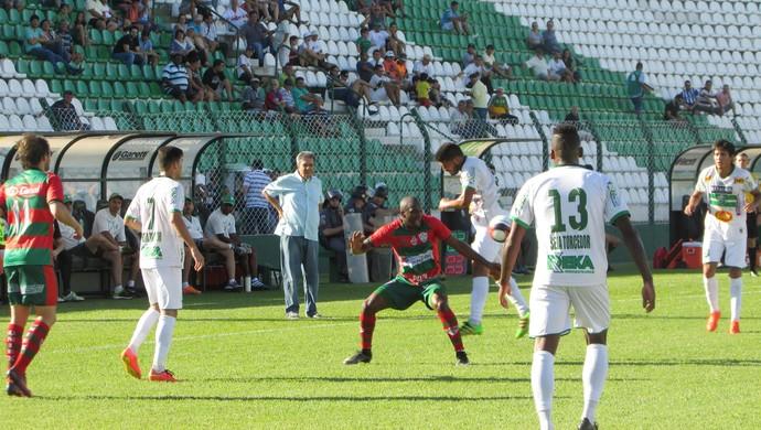 Rio Preto x Portuguesa (Foto: Leo Roveroni / Assessiva Comunicação)