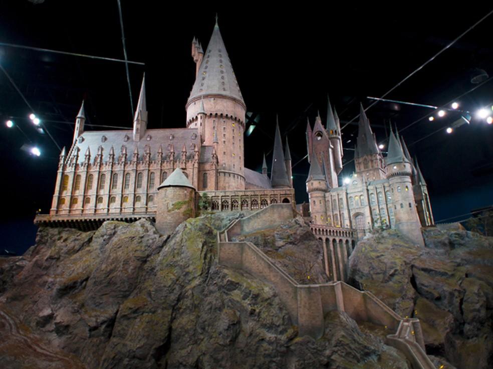 Estúdios de 'Harry Potter' em Leavesden, próximo a Londres (Foto: Jonathan Short/AP)