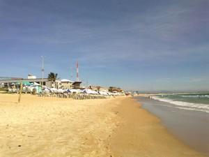 Praia do Peró, em Cabo Frio, RJ (Foto: Andreia Constâncio)