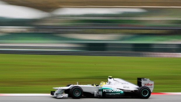 Nico Rosberg, treino GP da Malásia 2012 (Foto: Getty Images)