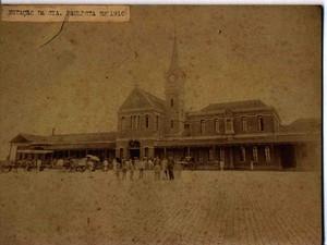 Estação Cultura de Campinas em 1910 (Foto: Acervo / MIS Campinas)