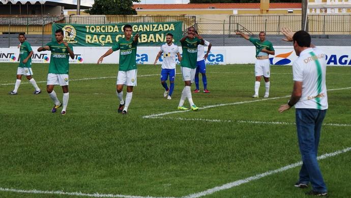 Cuiabá e Sinop semifinal do Mato-grossense 2014 (Foto: Assessoria/Cuiabá Esporte Clube)
