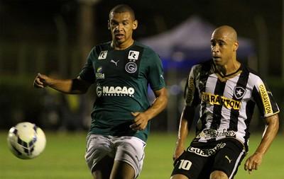 Jorge Wagner, Goiás x Botafogo (Foto: Vitor Silva/SS Press)