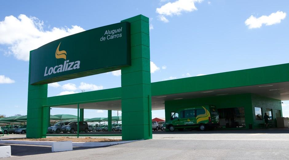 Unidade da Localiza Rent a Car (Foto: Divulgação)
