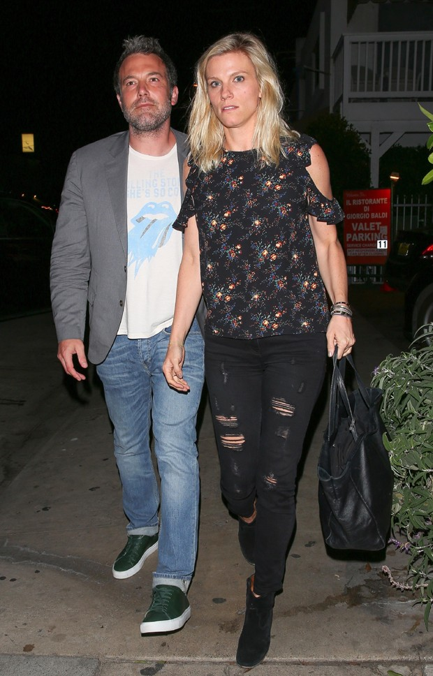 Lindsay Shookus e  Ben Affleck (Foto: The Grosby Group)