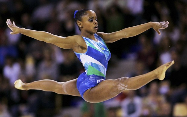 Daiane dos Santos no Mundial de 2006 (Foto: Getty Images)