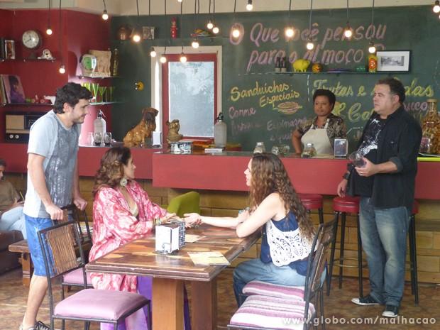 Vixi! Deu ruim, Nanduco!!! A Tizinha tá achando que o love dela é o Nélio!!! (Foto: (Foto: Malhação/TV Globo))